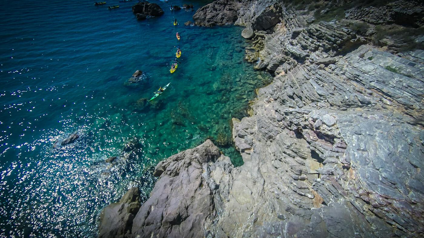 kayakmed sete et la mediterranee en kayak