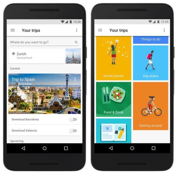 Google trips, une application pour organiser ses voyages