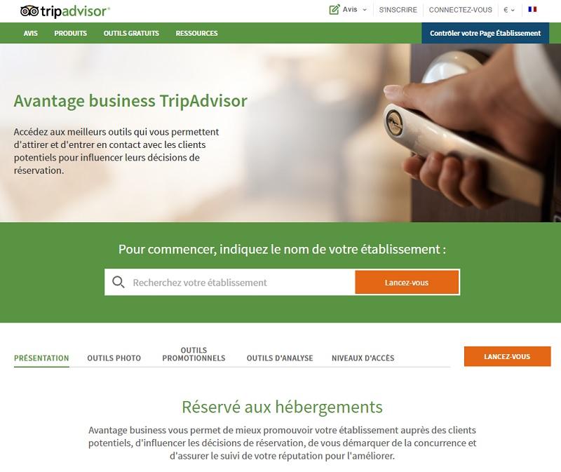 TripAdvisor : nouveaux outils pour les hébergements et les restaurants