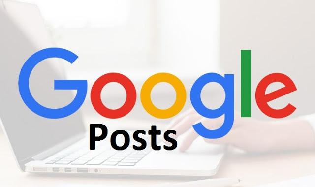 Google Posts est disponible pour toutes les pages My Business locales