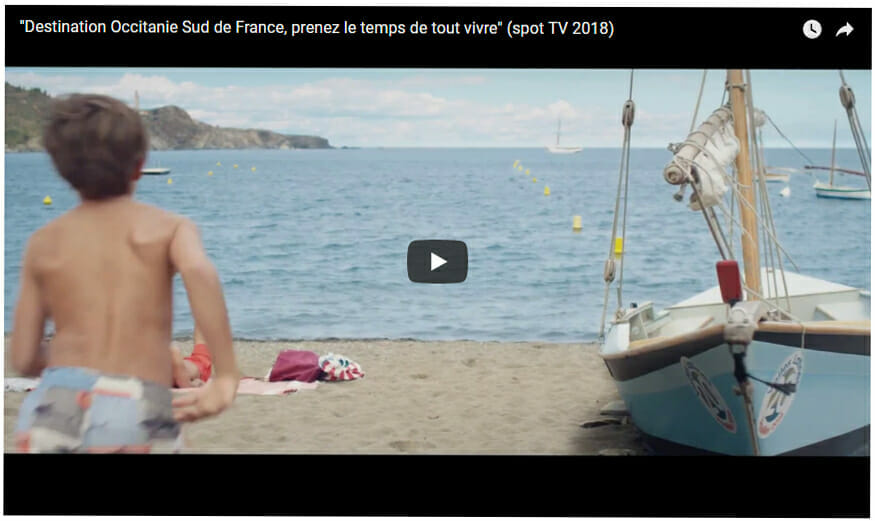 Nouvelle campagne de séduction pour la destination Occitanie Sud de France